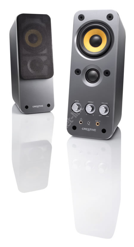 Creative announce new 2.0 GigaWorks speaker set