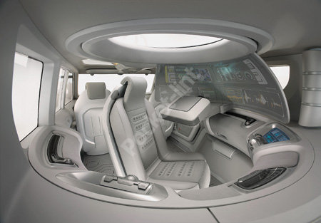 Nissan concept car brings the Starship Enterprise to the road
