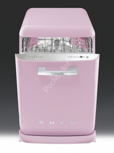 Smeg goes Pretty In Pink for new dishwasher range