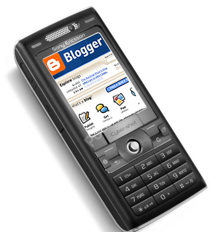 Sony Ericsson and Google bundle Blogger.com software on new phones