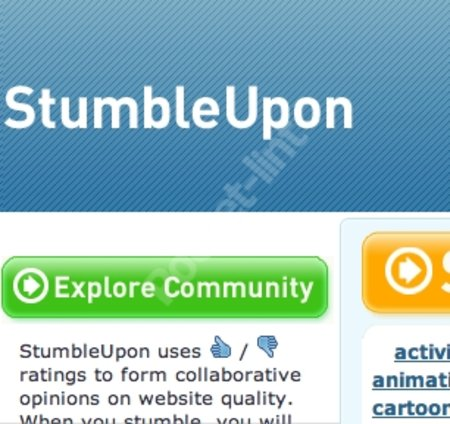 WEBSITE OF THE DAY - stumbleupon.com