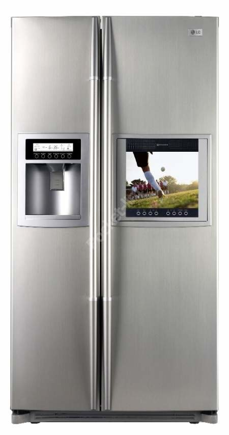 LG launches new fridge with built-in TV