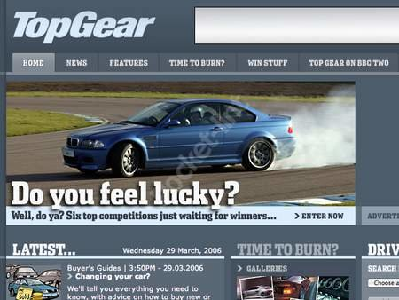 WEBSITE OF THE DAY - topgear.com