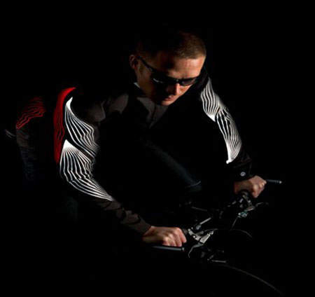 Illum Cycle jacket that promises to get you noticed