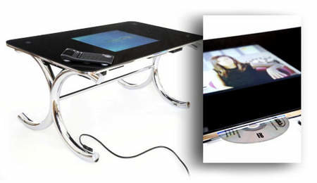 Stealth Tabletop offers computer in your coffee table