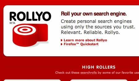 WEBSITE OF THE DAY - rollyo.com
