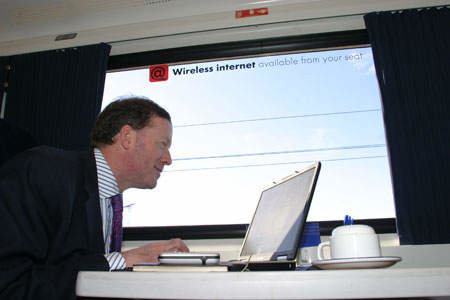 Half of GNER trains now Wi-Fi enabled