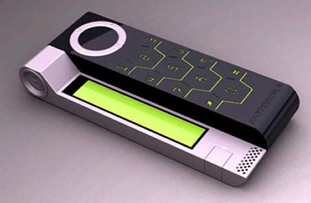 Motorola goes green with Motorola PVOT hand powered concept phone