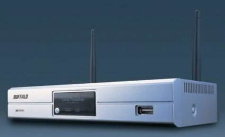 Buffalo launch Viiv friendly LinkTheater Wireless-AandG Media Player