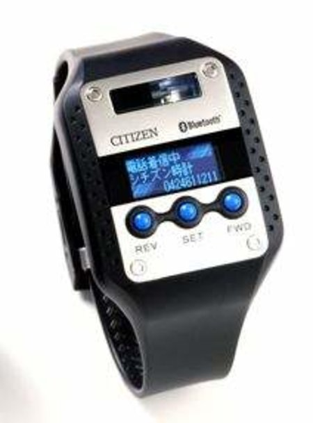 Citizen brings out world's first Bluetooth watch