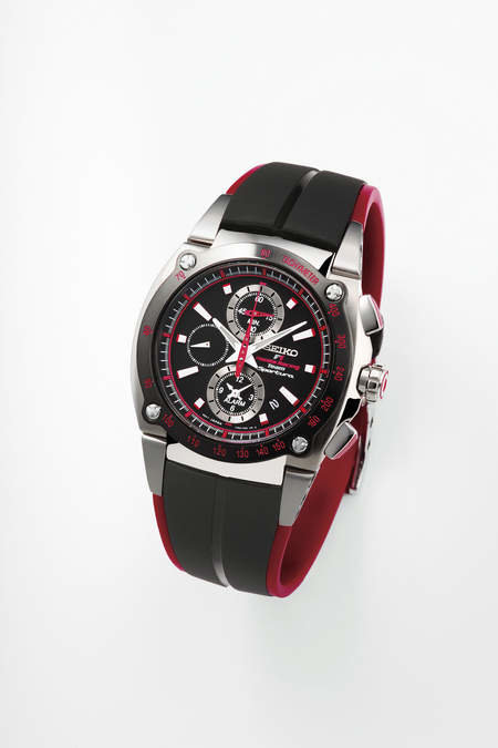 Racing watch from Seiko has Jenson Button's seal of approval