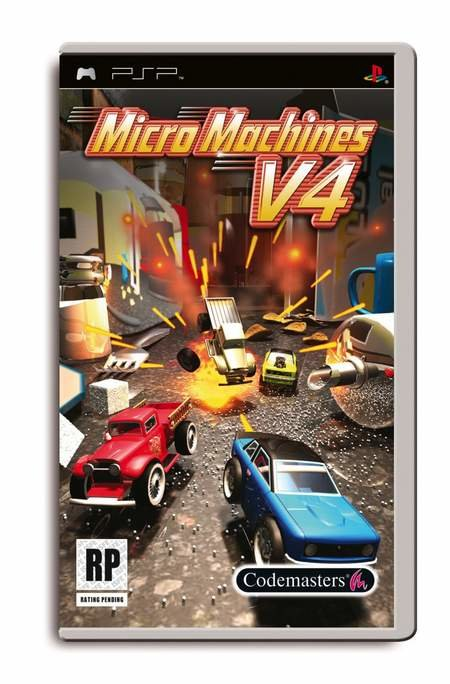 Win a copy of Micro Machines v4 on the PSP