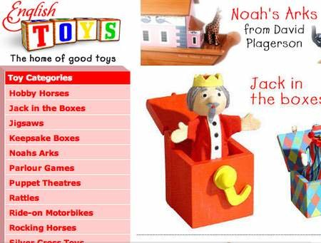 WEBSITE OF THE DAY - englishtoys.com