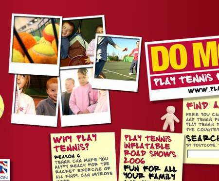 WEBSITE OF THE DAY - playtennis.org.uk
