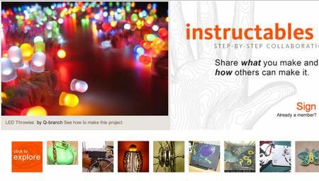 WEBSITE OF THE DAY - instructables.com