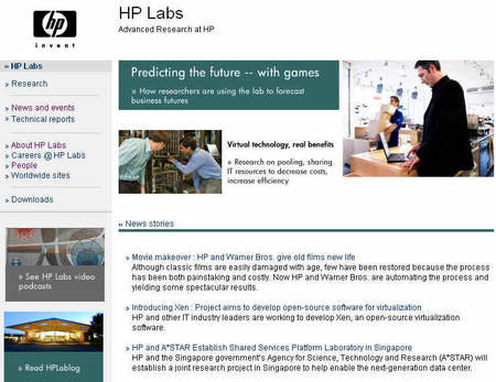 HP chips to bridge the gap between the digital and material world
