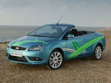 Ford flexes its green muscles with Ford Focus Coupe-Cabriolet concept car