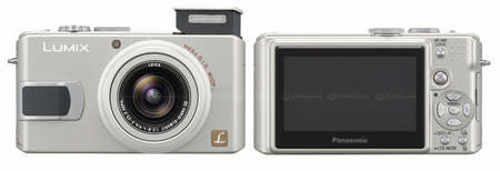 Lumix DMC-LX1 gets an upgrade from Panasonic and becomes the 10Mp LX2