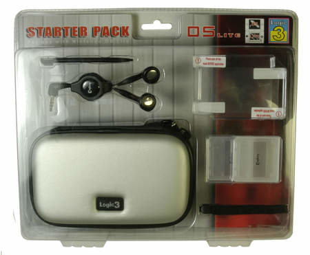 Nintendo DS Lite accessory range from Logic3