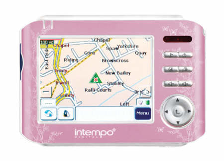 GPS goes pink with the Intempo Buddy