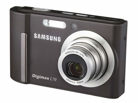 Samsung launch Digimax L70 digital camera