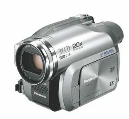 Panasonic launches DVD camcorder with 20x zoom