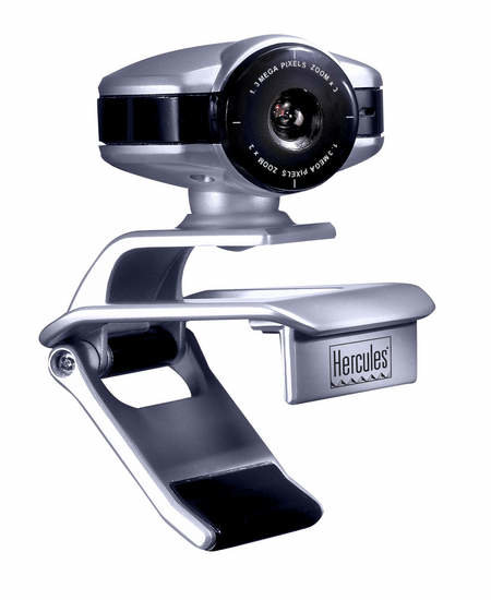 Hercules webcam combines great features with a small price