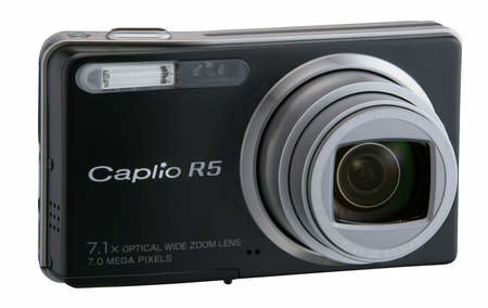 Ricoh brings out a wide-angle Caplio R5 compact digital camera