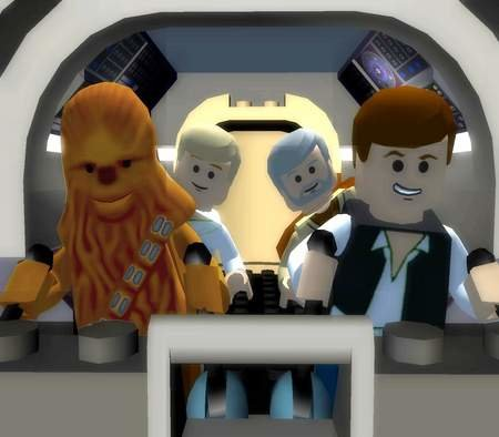 Lego Star Wars II the original trilogy screen shots released