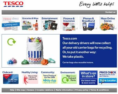 WEBSITE OF THE DAY - tescodirect.com