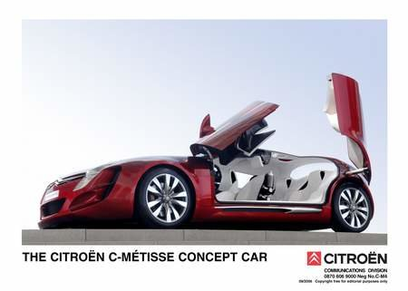 Citroen launch C-Metisse concept car