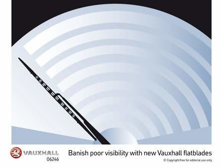 Vauxhall update the humble windscreen wiper with the Flatblade