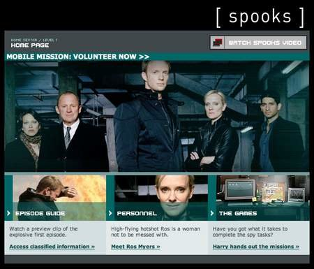 WEBSITE OF THE DAY - bbc.co.uk/spooks
