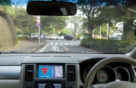 Nissan tests intelligent transportation system