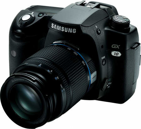 Samsung launch GX-10 DSLR digital camera