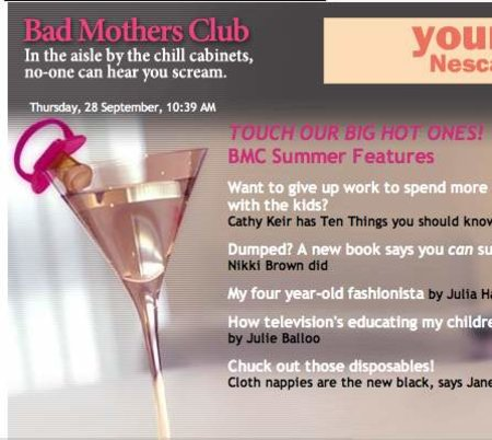 WEBSITE OF THE DAY - badmothersclub.co.uk