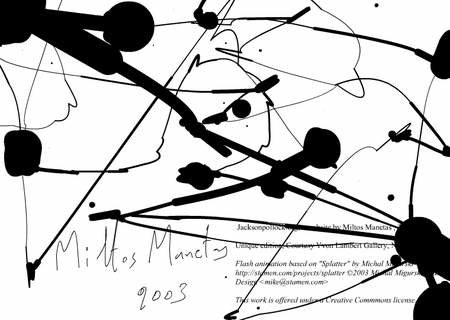 WEBSITE OF THE DAY - jacksonpollock.org