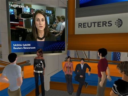 Reuters to open virtual news bureau in Second Life
