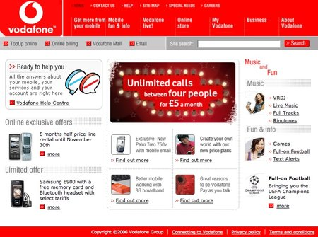 Vodafone introduces its Vodafone at Home broadband deal