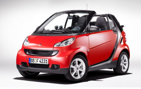 Smart shows off new look Fortwo