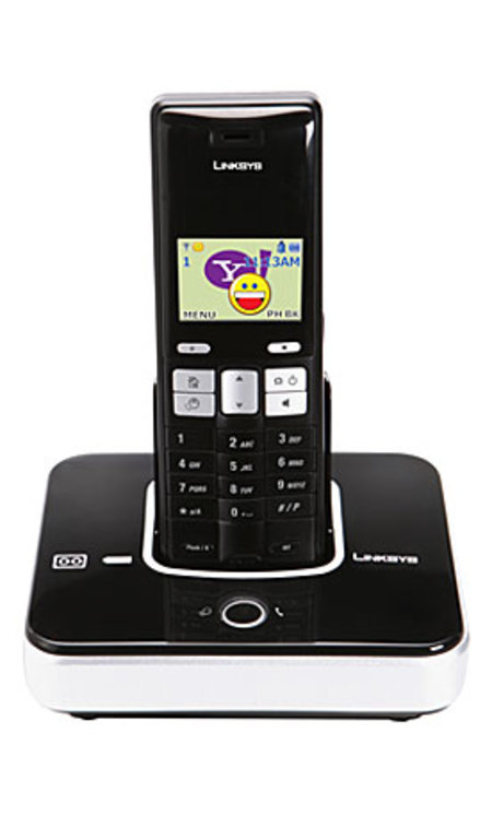 Linksys launches first VoIP cordless phone with Yahoo Messenger functions