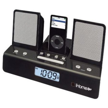 iHome launches iH26 portable iPod clock radio