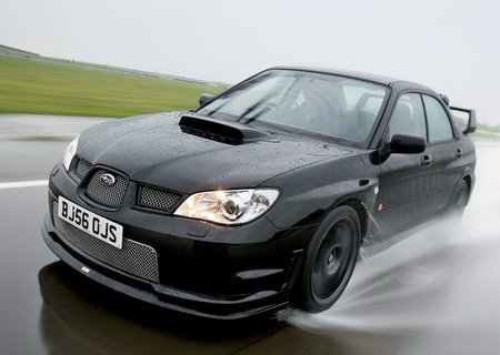 Subaru Honours Burns - with 320bhp Impreza WRX STI
