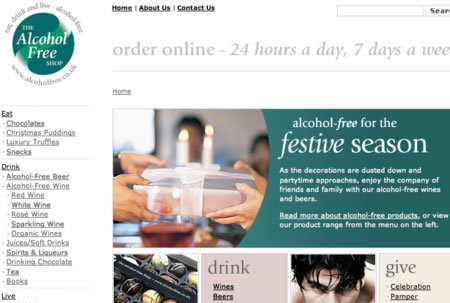 WEBSITE OF THE DAY – alcoholfree.co.uk