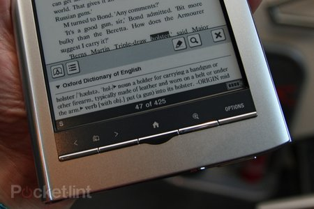 First Look: Sony PRS-650 Reader Touch review - photo 11