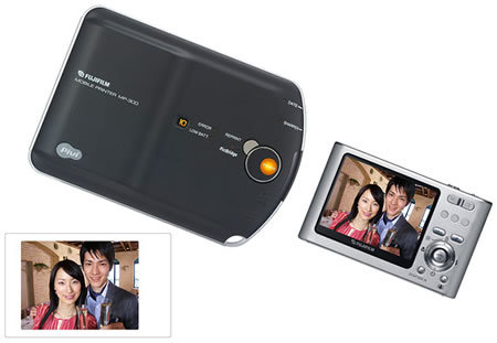 Japan gets tiny Fujifilm Pivi MP-300 portable printer