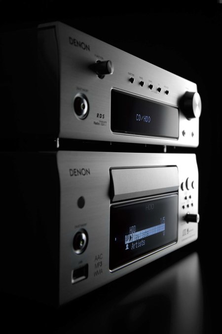 Denon releases D-F103HRDAB Network Hi-Fi with built-in hard drive