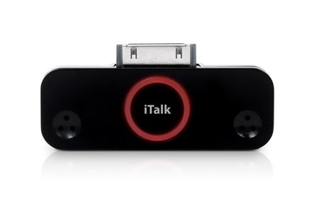 Griffin's iTalk Pro recorder for iPod now available
