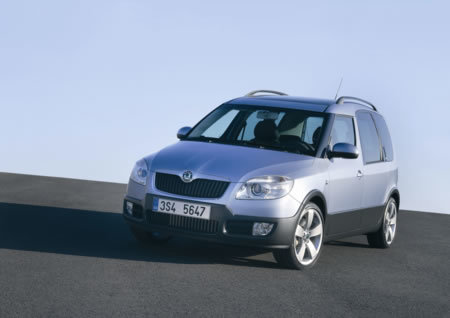 Skoda's Roomster gets Scout upgrade