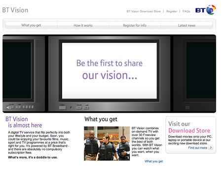 WEBSITE OF THE DAY – btvision.bt.com